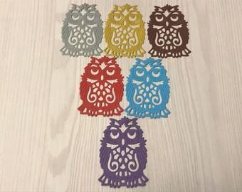 owl,paper owl,owl wall art,owl science,school graduation,high school graduation,paper decor,scrapbooking,wisdom,sapience,school gift,decor