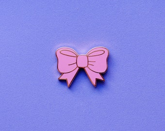 Enamel Pin - Bow