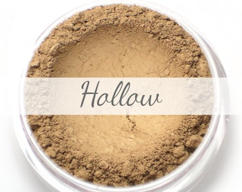 "Mineral Contour Bronzer Powder Sample - ""Hollow"" (taupe light brown, matte finish) - Vegan"