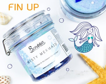 "Scrubbit ""Misty Mermaid"" Whipped Shower-Scrub (Fresh Ocean scent)"