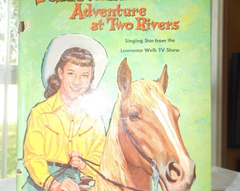 Vintage Children's Book Janet Lennon Adventure at Two Rivers 1961 Edition