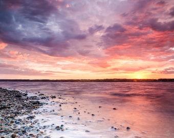 Glücksburg Sunset - Fine Art Landscape Photography Print