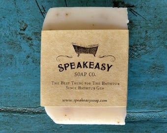 Rosemary & Mint Soap, Speakeasy Soap, all natural soap, vegan, handmade soap