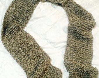 Xtra Long Scarf- Cookies and Cream