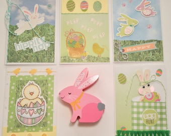 Easter Cards: Bunnies and Chicks