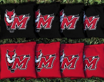 Marist College Red Foxes Cornhole Bag Set
