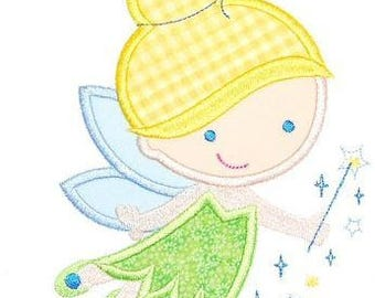 Inspired by Tinkerbell Iron on Patch Applique