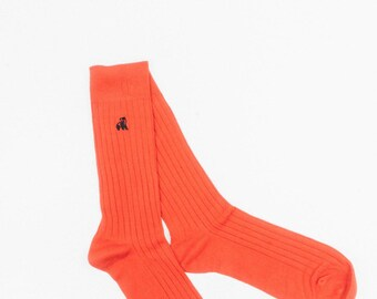 Bamboo Socks - Classic Red