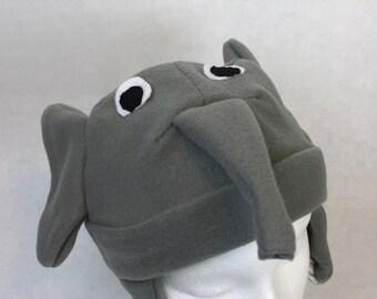 Baby and Kids Elephant Fleece Hat