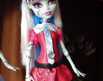 Frankie Stein Dress (Monster High) -  Outfits for Dolls