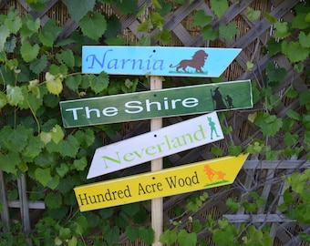 Wood Outside Garden Sign ( you choose what sayings)