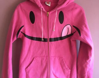 Smily face hoodie