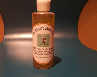 Ancient Blends 'Sacred' Hair and Scalp Oil...4ozs (small)