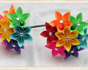 Paper Bouquet. You choose the color