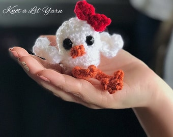 Teeny Tiny Chicky Chick Crochet Amigurumi PATTERN PDF Instant Download