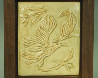 Birds in Flight - Ceramic Tile