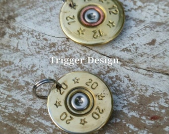 12 Gauge Brass and 20 Gauge Brass Shotgun Charm