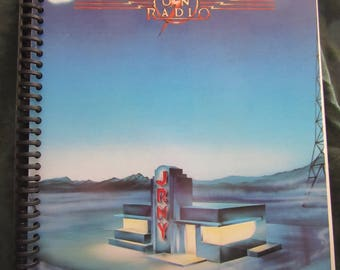 "Journey ""Raised on Radio""  Album Cover Notebook"