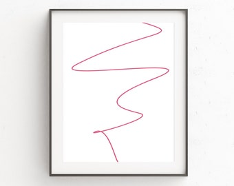 Pink Art Decor, Pink Wall Poster, Huge Wall Art, Blush Pink Wall Art, Pink Poster, Pink Bedroom Decor, Minimal Bedroom, Pink Wall Art Decor