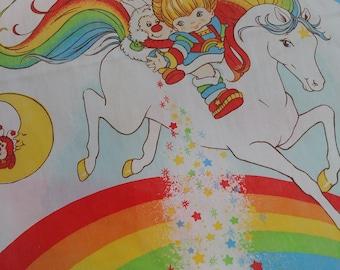 Rainbow Brite Full Size sheet set 1983