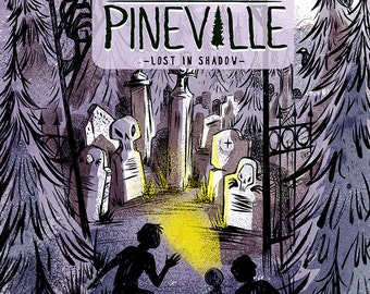 The Ghosts of Pineville 3 - Lost in Shadow - Comic
