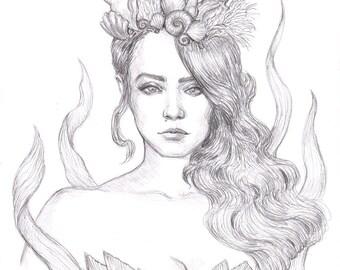 Siren ORIGINAL Drawing