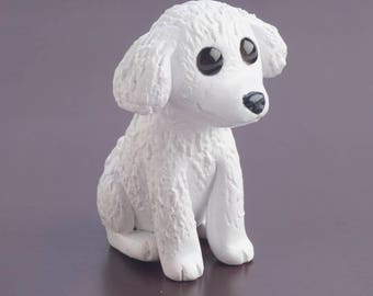 Custom Pet Animal Portrait Sitting Charicature Sculpture Figurine Totem