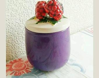 Retro Jam Ceramic Conserve Jar, Retro Home