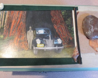 Freda, a painted wooden box