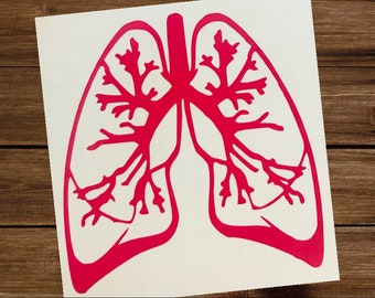 Lungs Decal