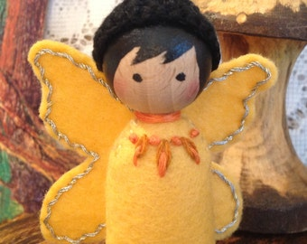 Yellow Butterfly Spring-a-Ling