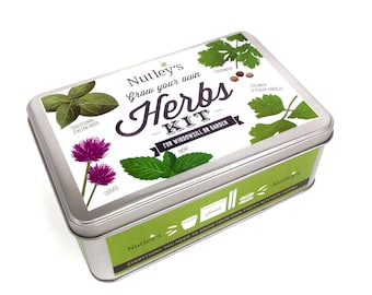 Nutley's Grow Your Own Herbs Kit