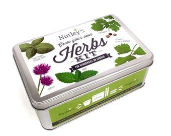 Nutley's Grow Your Own Herbs Kit