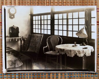 Vintage Photograph:  Cozy Corner-c1910, R