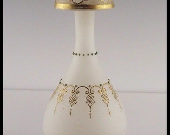 Victorian Coralene Vase ca early 1900's