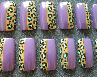 Wide Fit False Nails for Men and Women.