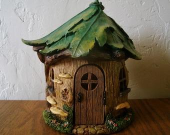 Forest House - Fairy House - Fairy Garden - Nature - Woodland - Miniature Gardening