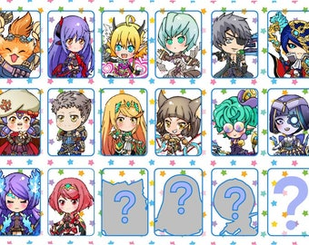 Xenoblade Chronicles 2 Acrylic Keychains (Ursula/Roc)Pre-Orders