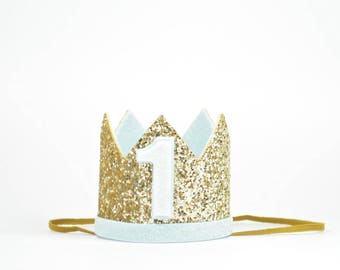 First Birthday Outfit Boy | First Birthday Crown Boy | Birthday Crown Baby Boy | Boy Birthday Outfit | Boy Party Hat | Boy Photo Prop