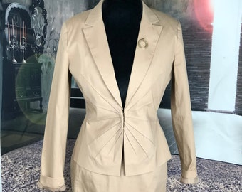 2pc Skirt and Blazer suit