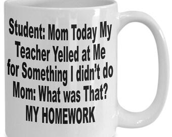 Funny Teacher Mug - Awesome Teacher Mug for those that Like Humor - teacher superpower mug