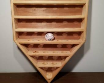 Home Plate Baseball display rack