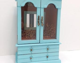 Jewelry armoire Etsy