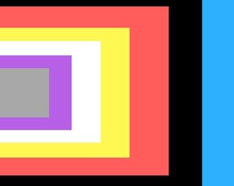 Layers-Modern Art Digital Print