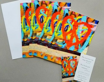 Buy Four Cards and get 10% off Order! A Peaceful Revolution Greeting Card. Special gift included. Boxed Set. Peace. Love.