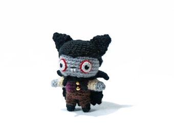 Vampire - Amigurumi - crochet pattern