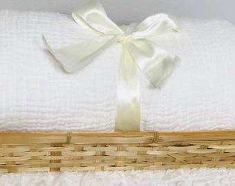 100% Handwoven Cotton Blanket GABBI