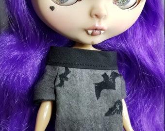 """Custom Blythe Doll Vampire """"Spoopy"""""""