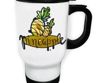 Pineapple Fruit Tasty Stainless S Travel 14oz Mug r831t