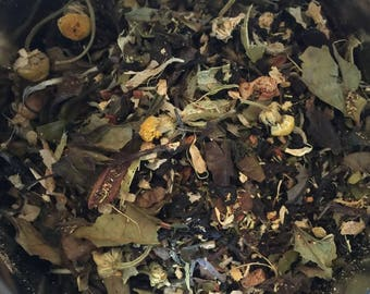 Vanilla White Chai Tea | White Tea | Organic Tea | Loose Leaf Tea | Chai Tea